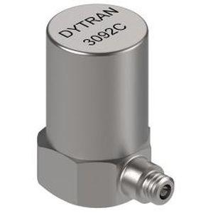 Imagem de acelerômetro piezoelétrico utilizado para medir vibração